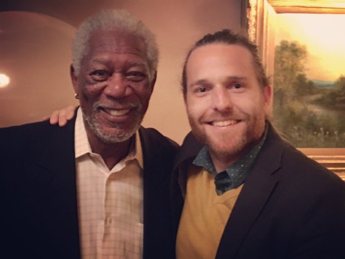 Interview with Morgan Freeman in the Holy Land